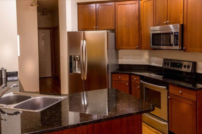 An affordable kitchen cabinet upgrade